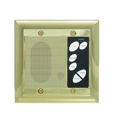 On Q Legrand - On-q F7641SB Intercom Patio Unit Outdoor Shiny Brass