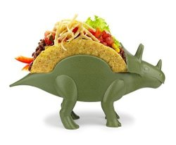 KidsFunwares Tricerataco Taco Holder - The Ultimate Prehistoric Taco Stand For Jurassic Taco Tuesdays And Dinosaur Parties - Hol