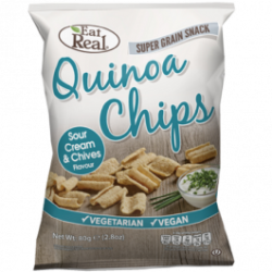 Eat Real Quinoa Chips - Sour Cream & Chives