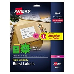 Avery Id & Specialty Labels 5995