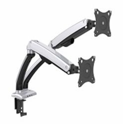 """ULTRA LINK ULP-DM02 Monitor Desk Mount Double Arm - 12"""" To 30"""