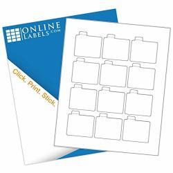2.125 X 2.125 Lip Balm Labels - Pack Of 120 Labels 10 Sheets - Inkjet laser Printer - Online Labels