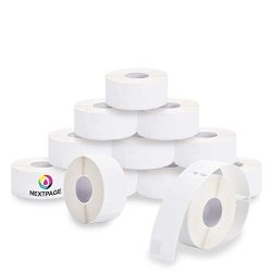 """Nextpage 12 Pack Dymo 30252 Compatible Shipping Label 1-1 8""""X 3-1 2"""" 28MM X 89MM 350 Labels Per Roll 12 Rolls 30252"""
