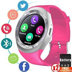 Smart Watch Fitness Tracker For Men Women Kids Holiday Valentine Day Gifts Bluetooth Smartwatch Unlocked Cell Phone Watch With S