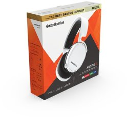 SteelSeries Gaming Headset - Arctis 3 - 2019 Edition - White Pc gaming