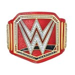 Wwe Universal Championship Commemorative Title Belt Gold red