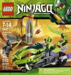 LEGO Ninjago 9447 Lasha's Bite Cycle