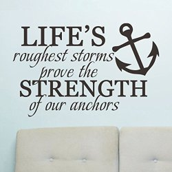 Chioum Life's Roughest Storms Prove The Strength Of Our Anchors - 25579