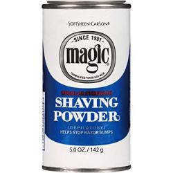 Magic Shaving Powder Blue Regular Strength 5 Oz Pack Of 12