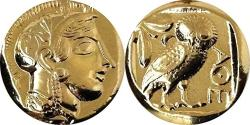 USA Golden Artifacts Athena And Owl Famous Greek Coin Mark Of Athena Percy Jackson Teen Gift Unique Gift Greek Mythology PJ12-G