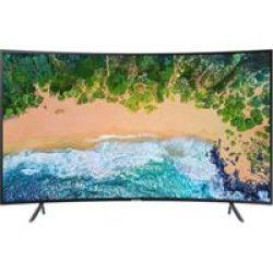 "Samsung 49NU7300 49"" LED UHD Smart Curved TV"
