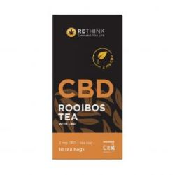 Rethink Cbd Pure Rooibos Tea 2MG 10S