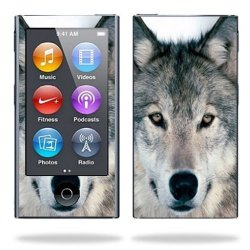 MightySkins Protective Skin Decal Cover For Apple Ipod Nano 7G 7TH Generation MP3 Player Wrap Sticker Skins Wolf
