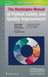 Washington Manual Of Patient Safety And Quality Improvement - Emily Fondahn Paperback