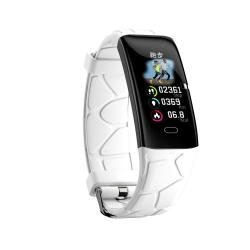 E58 0.96 Inch Ips Color Screen Smartwatch IP67 Waterproof Support Call Reminder heart Rate Monitoring blood Pressure Monitoring sleep Monitoring blood Oxygen Monitoring White