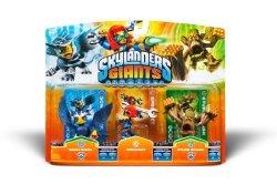 Skylanders Giants Activision 3 Pack Sonic Boom Sprocket Stump Smash