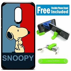 Limited Editions For LG Stylo 4 Stylo 4 Plus Hybrid Rugged Hard Cover Case - Peanuts Snoopy Polo