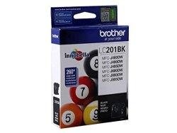 Brother LC201BK - Black - Original - Ink Cartridge -LC201BKS