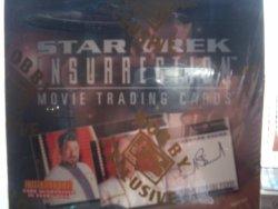 Star Trek Insurrection Movie Trading Card Box 36 Packs