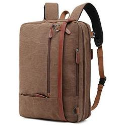 Coolbell Convertible Backpack Shoulder Bag Messenger Bag Laptop Case Business Briefcase Leisure Handbag Multi-functional Travel