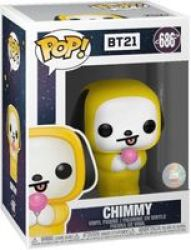 Pop Animation: BT21 - Chimmy Vinyl Figure