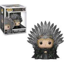 Funko Pop Deluxe: Game Of Thrones - Cersei Lannister Sitting On Throne Vinyl Figurine