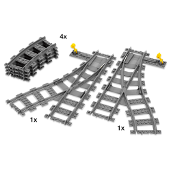 Lego 7895 Switching Tracks
