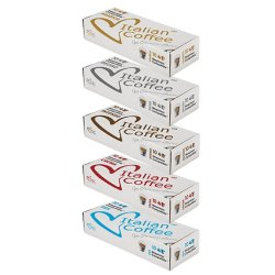 Nespresso Italian Variety Pack - 50 Compatible Coffee Capsules