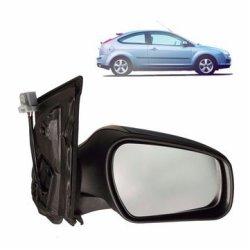 Left Passenger Side Wide Angle Wing Door Mirror Glass for SEAT ALTEA 2004-2008