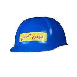 Trick Or Treat Studios Good Guys Doll Construction Helmet Prop Blue