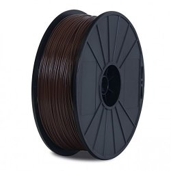 BuMat Dabsbr-e Elite Abs Filament 1.75MM 0.7KG 1.5LB Printing Material Supply Spool For Flashforge Dreamer 3D Printer Brown Ink