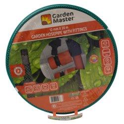 GARDEN MASTER - 20M Garden Hose With Fitting