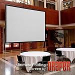 Draper 241248 Ultimate Folding Screen 56 X 96 Matt White XT1000V