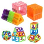 Magnetic 32PCS Blocks Magnet Tiles Kit Building Play Toy Boys Girls Kids Gift