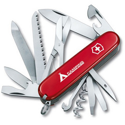 Victorinox Swiss Army 91mm Red Ranger Pocket Knife