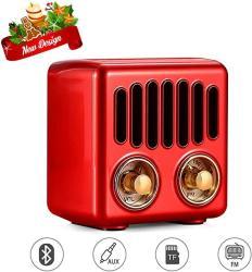 Vintage Radio Retro Bluetooth Speaker Greadio Fm Radio With Bluetooth 4.2 Old Fashioned Classic Style Good Bass Enhancement Loud