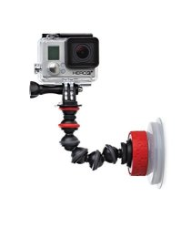 Joby, Inc Joby Suction Cup With Gorillapod Arm For Gopro HERO6 Black Gopro HERO5 Black Gopro HERO5 Session Contour And Sony Action Cam