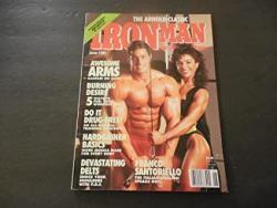 Iron Man Jun 1991 Franco Santoriello Mike Mentzer Arnold Classic