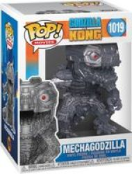 Pop Movies: Godzilla Vs Kong - Mechagodzilla Vinyl Figure