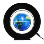 Magnetic Levitation Floating Earth Globe Map With Base LED Light Christmas Gift
