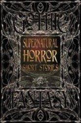 Supernatural Horror Short Stories Hardcover