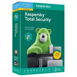 Kaspersky Total Security 2020 1DEV 1Y Bundle Card KL19499OAFS20ENG