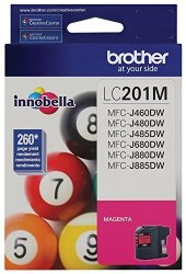 Brother LC201M Standard Yield Magenta Ink Cartridge
