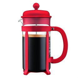 Bodum Java French Press Coffee Maker 34 Oz Red