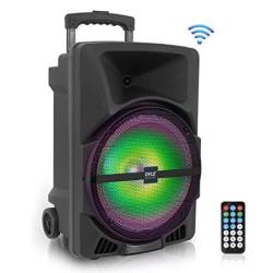 Wireless Portable Pa Speaker System -1200W High Powered Bluetooth Compatible Indoor And Outdoor Dj Sound Stereo Loudspeaker W U