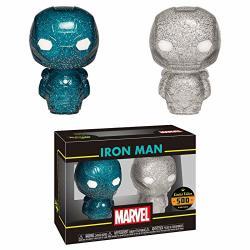 Funkos Marvel Hikari XS Iron Man Blue Silver Figure Set