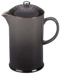 Le Creuset Stoneware 27OZ. French Press Oyster