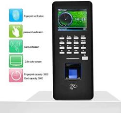Fingerprint Attendance Machine 2.8 Inches Color Screen Tft Lcd Password Door Lock Attendance Machine Employee Checking-in Recorder Access Control System Ic