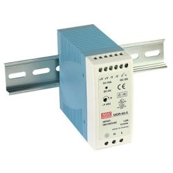 Mean Well MDR-60-24 MDR-60 Series 60 W Single Output 24 V Ac dc Industrial Din Rail Power Supply - 1 Item S