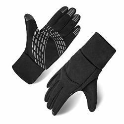 Opard Winter Gloves Women Men Touch Screen Soft Fleece Cold Weather Mittens Cycling Driving